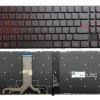 Tastatura laptop pentru Lenovo Y520-15IKBN Y520-15IKBA RED KBLE12